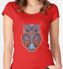 Owl 7 Women's Fitted Scoop T-Shirt