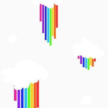 Rainbow Rain by PhoenixRoy