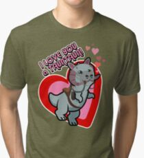 I Love you a TaunTaun! Tri-blend T-Shirt