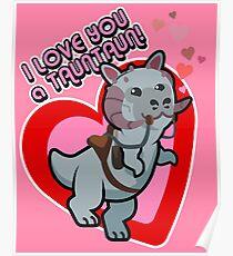 I Love you a TaunTaun! Poster