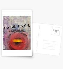 To Be Free Postcards