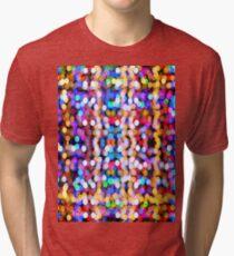 Bokeh Pattern Tri-blend T-Shirt