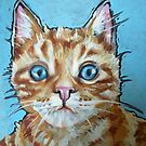 Woody the cat by kathy archbold