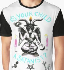 Is Your Child A Satanist? Graphic T-Shirt