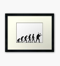 Counter Strike Global Offensive Evolution Framed Print