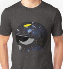 Black Ranger Helmet - Space Variant Unisex T-Shirt
