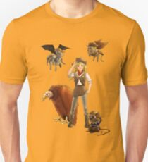 Tammy And Her Critters Tame The West Unisex T-Shirt