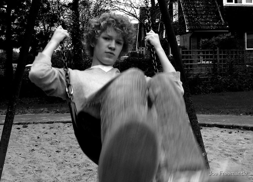 Gray Swingset by Joe Freemantle