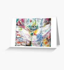 The Genetic Bill of Rights Painting Series Signature Piece Greeting Card