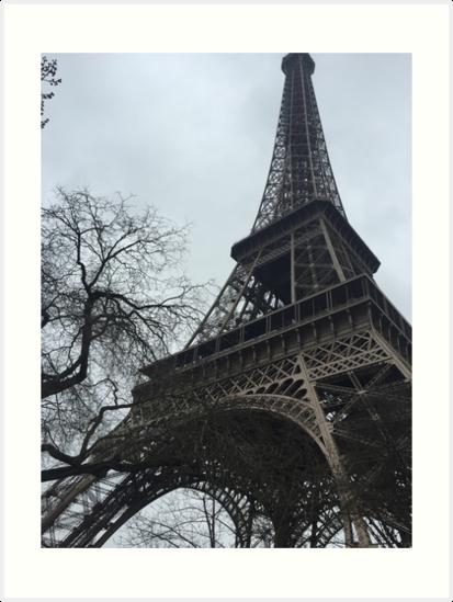 Eiffel Tower by mckennaraemohs