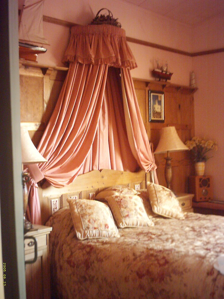 No 9 Bedroom at the West Usk Lighthouse by Danielle  Sheahan