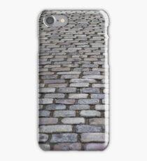 Long Cobblestone Roadway  iPhone Case/Skin