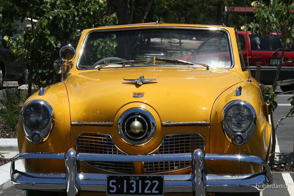 Yellow Studebaker by bribiedamo
