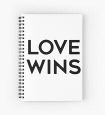 LOVE WINS Spiral Notebook