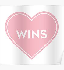 Love Wins Heart Poster