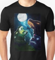Three Cerberus AstroMoon T-Shirt