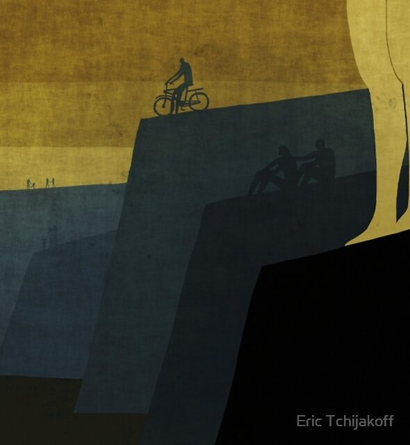 """Cape Town"" Illustration Toni Demuro by Eric Tchijakoff"