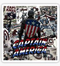 Captain Collage Sticker