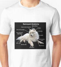 Samoyed Anatomy Unisex T-Shirt