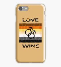 Gay Bear Love Wins Catalog iPhone Case/Skin