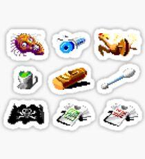 Secret of Monkey Island objects Sticker