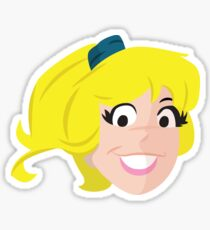 Betty Cooper Sticker