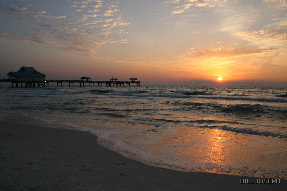 CLEARWATER BEACH, FLA. by BILL JOSEPH
