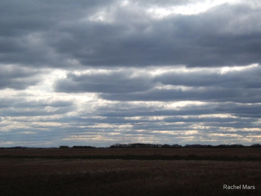 Clouded Sunset by Rachel Mars