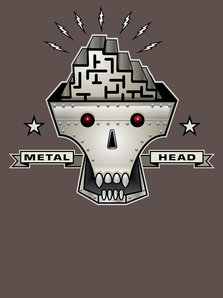 Metal Head by Ruffmouse