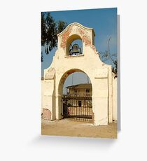 Olivas Adobe Greeting Card