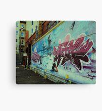 Graffiti Wars Canvas Print