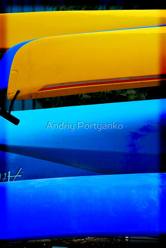 Canoe3 by Andriy Portyanko