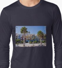 Colored houses. Long Sleeve T-Shirt