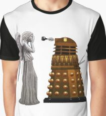 Dalek and Weeping Angel Graphic T-Shirt