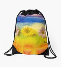Sunny day :) Drawstring Bag