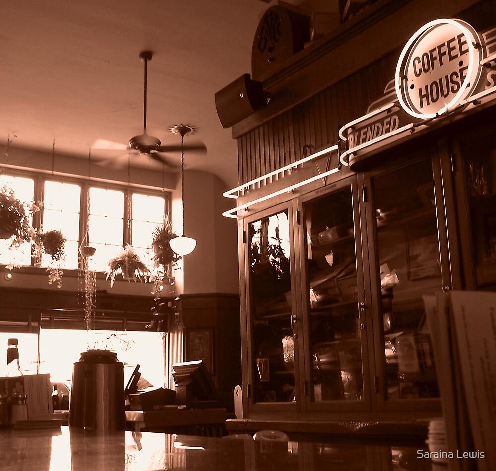 coffee house by Saraina Williams