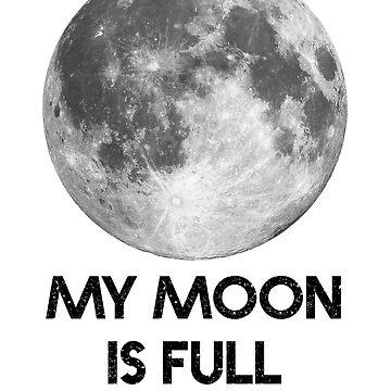 My Moon is Full by goldenlotus