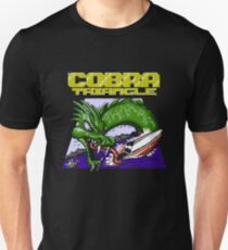 Cobra Triangle - Black Background Only Unisex T-Shirt