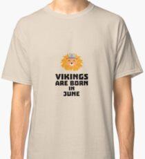 Vikings are born in June Rni2i Classic T-Shirt