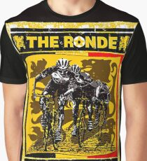 TOUR OF FLANDERS: Vintage Bicycle Racing Print Graphic T-Shirt
