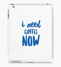Coffee - Quotes iPad Case/Skin