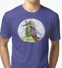 Robot Link Tri-blend T-Shirt