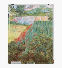 Field with Poppies by Vincent van Gogh iPad Case/Skin
