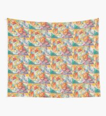 Breakfast Table Wall Tapestry