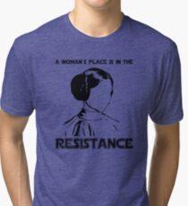 Princess Leia Resist Tri-blend T-Shirt
