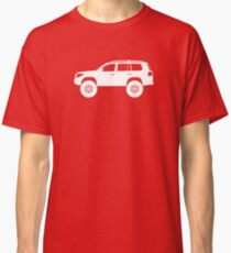 Lifted 4x4 offroader - for Toyota Toyota Land Cruiser J200 (2008-)enthusiasts Classic T-Shirt