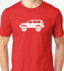 Lifted 4x4 offroader - for Toyota Toyota Land Cruiser J200 (2008-)enthusiasts T-Shirt