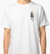 defiant girl, fearless girl statue on Wall Street, NY Classic T-Shirt