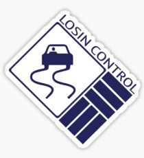 Losin Control Sticker