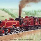 Beyer-Garratt 1009 by LocomotiveArt